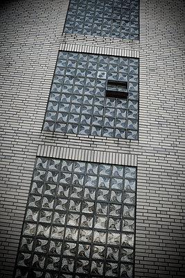 Glass blocks - p403m890178 by Helge Sauber