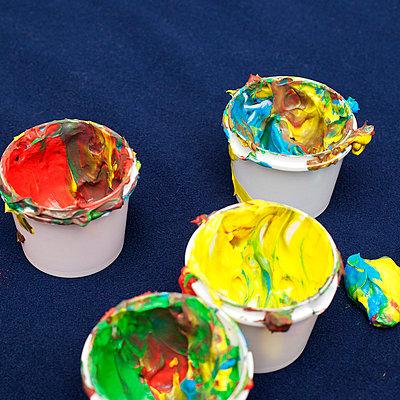 Fingerfarbe - p606m822711 von Iris Friedrich