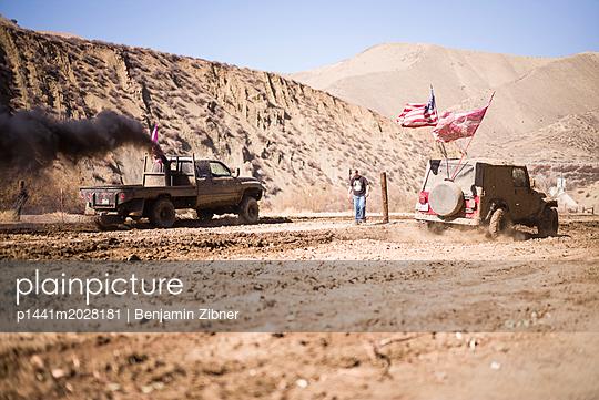 In der Wüste - p1441m2028181 von Benjamin Zibner