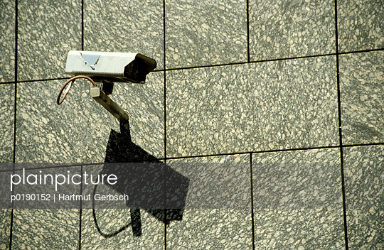 Überwachungskamera - p0190152 von Hartmut Gerbsch