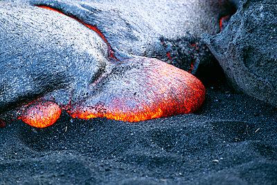 Lava stream Hawaii USA - p575m1074843f by Karin Eriksson