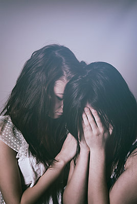 Two sad girls  - p794m1135057 by Mohamad Itani