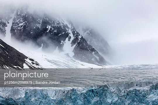 Glacial Study - p1256m2098979 by Sandra Jordan