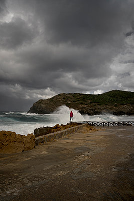 On the coast of Argentiera in Sardinia  - p470m2270107 by Ingrid Michel