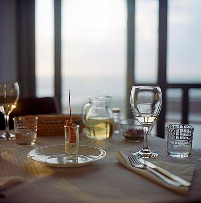 Fischrestaurant - p387m900849 von Patricia Eichert