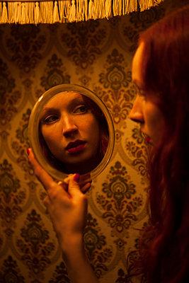 Selbstbetrachtung - p045m1208197 von Jasmin Sander