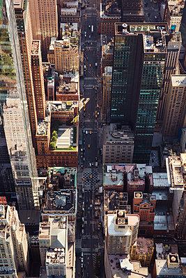 New York aus der Luft - p432m1172392 von mia takahara