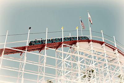 Roller coaster at Santa Cruz - p737m1006799 by Tamara Jung-König