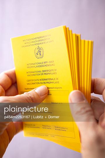 Vaccination certificates - p454m2263167 by Lubitz + Dorner