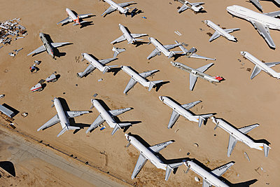 Airliner scrap yard - p1048m1058611 by Mark Wagner