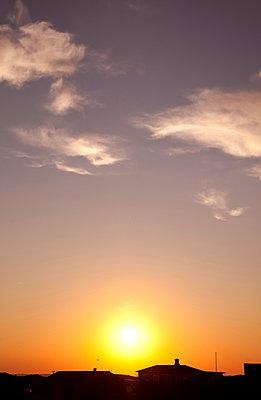 Sonnenuntergang auf Fanö - p382m1591161 von Anna Matzen