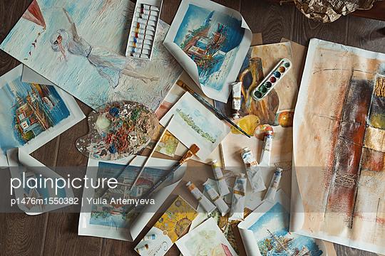 Paintings - p1476m1550382 by Yulia Artemyeva