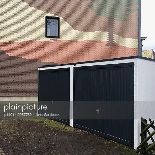 Doppelgarage im Hinterhof - p1401m2057782 von Jens Goldbeck