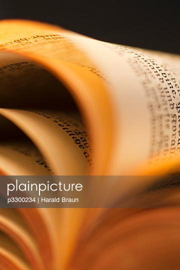 Buchseiten - p3300234 von Harald Braun