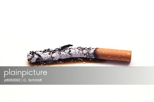 Ash of a cigarette - p8050002 by C. Schmidt