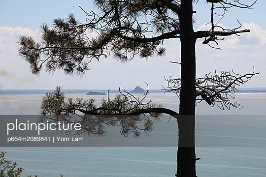 View of Mont St Michel - p664m2089841 by Yom Lam