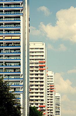 Tower blocks - p279m984695 by Markus Behrens