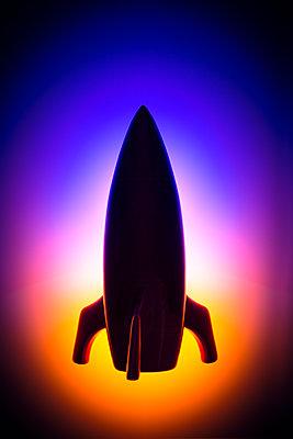 Spaceship miniature - p1149m2280187 by Yvonne Röder