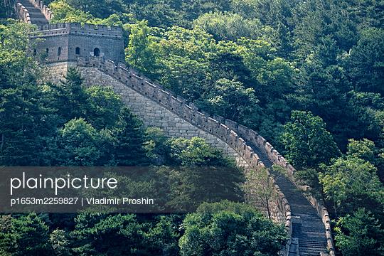 China, Chinese wall - p1653m2259827 by Vladimir Proshin