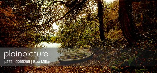 Autumn river - p378m2085285 by Bob Miller