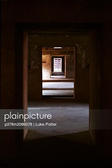 India Temple Doorways - p378m2086078 by Luke Potter