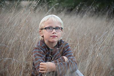 Blonde boy - p920m943510 by Jude Mooney