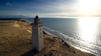 Lighthouse Rubjerg Knude - p179m1475484 by Roland Schneider
