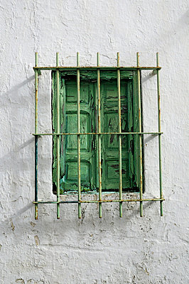 Window in Anadalusia - p7260018 by Katarzyna Zommer