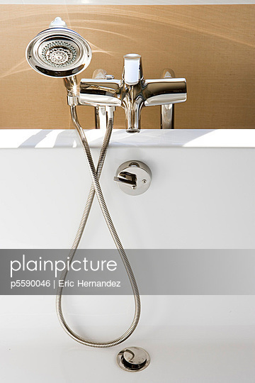 Chrome faucet and detachable showerhead - p5590046 by Eric Hernandez
