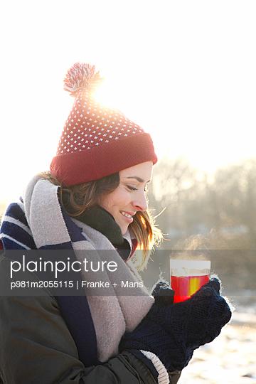 Dampfender Tee - p981m2055115 von Franke + Mans