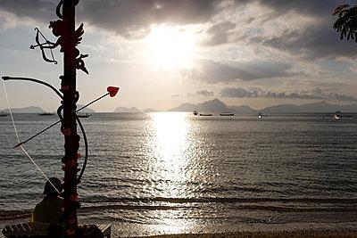 Verliebt am Strand - p842m1123824 von Renée Del Missier