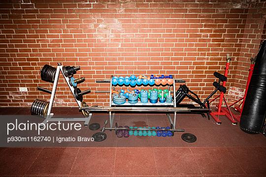 Fitnessraum - p930m1162740 von Phillip Gätz