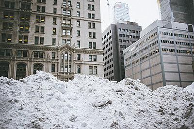 Snow Mountains in Manhattan - p1290m1111090 by Fabien Courtitarat