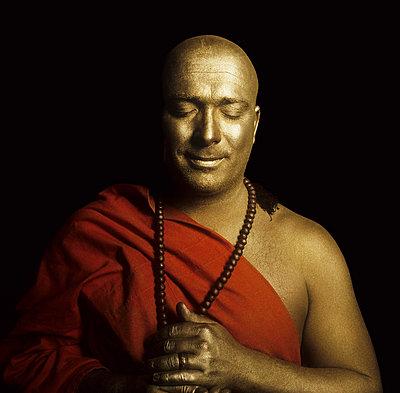 Buddhist monk - p7090028 by Axel Kohlhase