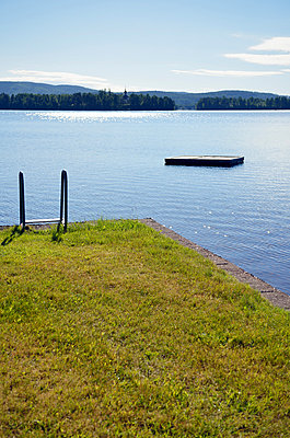 Lake Siljan - p715m880622 by Marina Biederbick