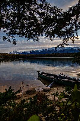 Lake Annette - p1455m2092344 by Ingmar Wein