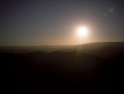 View from Griffith Observatory - p1177m1002789 by Philip Frowein