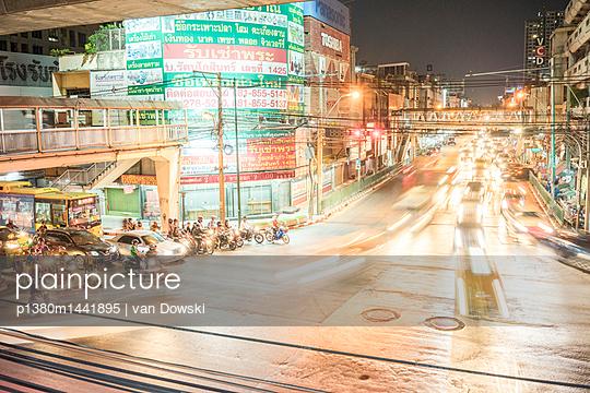 Bangkok Dämmerung - p1380m1441895 von van Dowski