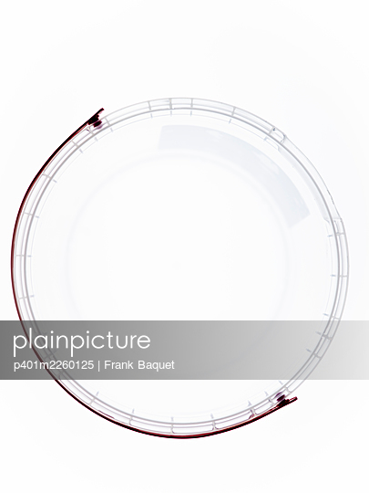 Transparent plastic bucket - p401m2260125 by Frank Baquet