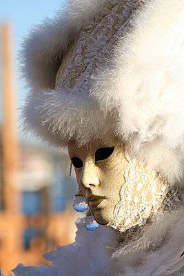 Maskierte in Venedig - p1620033 von Beate Bussenius