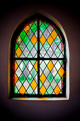 Stained Glass Window - p975m729274 by Hayden Verry