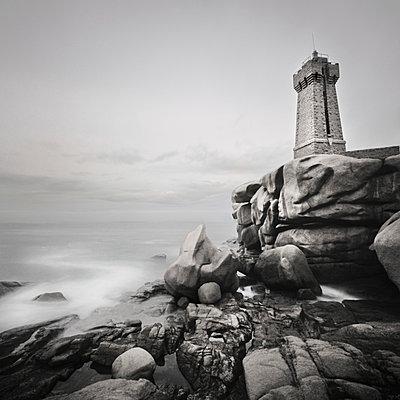 Leuchtturm von Ploumanac'h - p1137m932514 von Yann Grancher