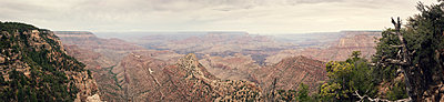 Grand Canyon panorama - p1515m2107303 by Daniel K.B. Schmidt