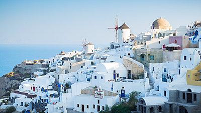 Coastal Greek town - p312m1192687 by Michael Jonsson