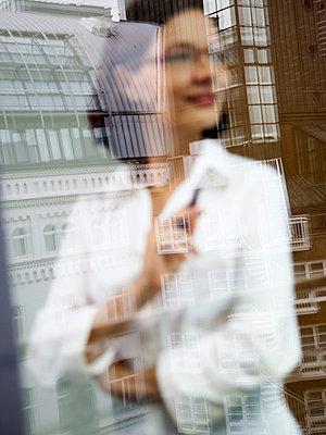 Businessfrau - p4130684 von Tuomas Marttila