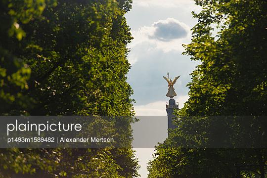 Siegessäule im Tiergarten - p1493m1589482 von Alexander Mertsch