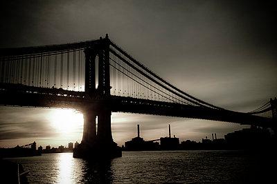 Bridges NYC - p1472m1563543 by Alfonse Pagano