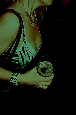 Nightlife, Reykjavik, Iceland - p1028m2002099 by Jean Marmeisse