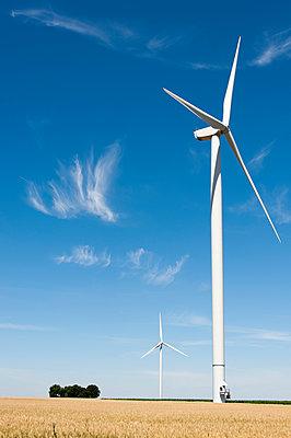Windkraft, Bois Ballay - p1079m1074169 von Ulrich Mertens