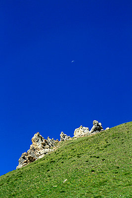 Deep blue sky - p977m858471 by Sandrine Pic